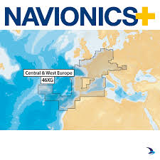 Navionics Chart Central And West Europe 46xg Large