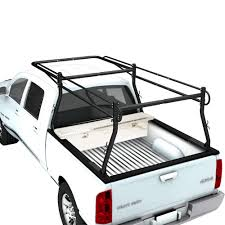 Universal Pickup Truck Utility Ladder Rack w/ 30'' Over cab Ext ...