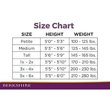 Berkshire Size Chart Berkshire Womens Luxe Opaque Control Top Tights 4741 Chic