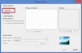 powerpoint photo albums how to insert a photo album in a microsoft powerpoint presentation