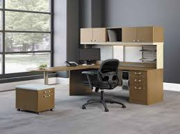 affordable home office design ikea with wooden cabinet applied on the grey floor it also has awesome home office ideas ikea 3