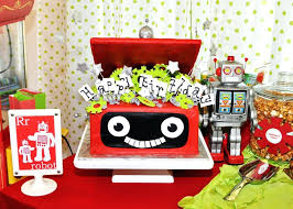 decorations robots home decor party catalog home decor party