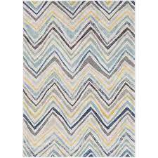 zipcode design evangelina blue gray area rug reviews wayfair for yellow and prepare 13