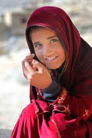 u s department of defense photo essay a local afghan child watches as u s female iers meet afghan women and children to