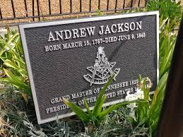 andrew jackson gravesite nashville tennessee andrew jackson grave historical marker