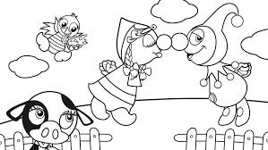 Kleurplaat Spookjes Dibujo De Blancanieves Y Los Enanitos