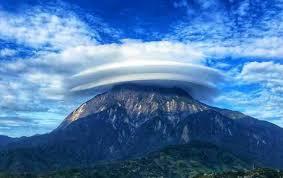 Image result for fenomena alam di puncak gunung kinabalu