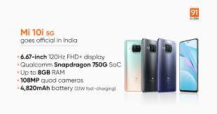 Xiaomi Mi 10i launched in India: price ...