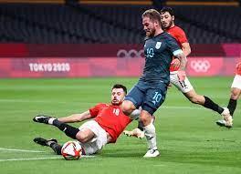المنتخب_الأولمبي   المنتخب الأولمبي يسقط أمام الأرجنتين بهدف في أولمبياد  طوكيو - الأرجنتين