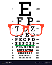 Eye Vision Test Poor Eyesight Myopia Diagnostic