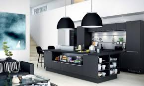 Painted Black Kitchen Cabinets Wonderful Black Kitchen Cabinets With White Countertops African