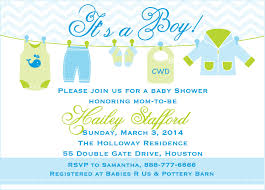 Baby Shower Template Free Printable Baby Shower Invitations Templates For Boys 17