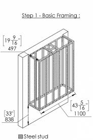 fireplace framing zero clearance gas