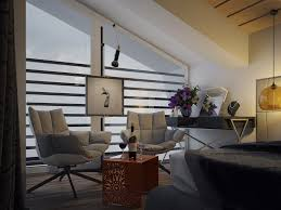 Home Designs: Exposed Ceiling Beams - Penthouse