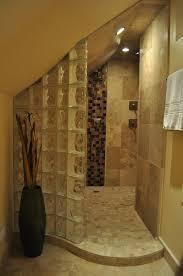 Bathroom: Sample Remodel Ideas On Glass Block Shower Gallery Design - Glass  Block Shower Walls