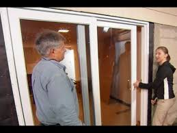 how to install a sliding glass door this old house