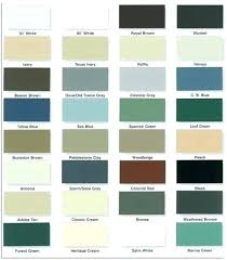 Mitten Siding Color Chart Vinyl Siding Decoration Colors Pacific Color Chart Mastic Paci