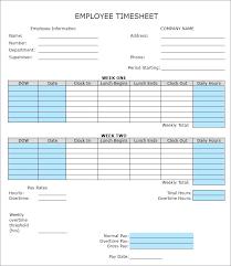 Biweekly Time Sheet Calculator Custom Excel Timecard Template Free Biweekly Timesheet Bi Weekly Spitznas
