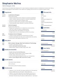 Interior Design Process Checklist Interior Design Resume Sample And Complete Guide 20 Examples