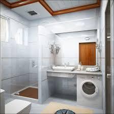 small bathroom chandelier crystal ideas:  small bathroom idea and design for spacious feeling beautiful small bathroom idea using modern style