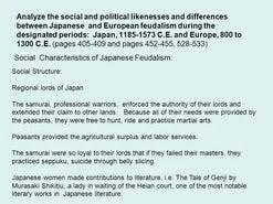 essay on feudalism in  essay on feudalism in