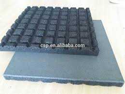 heavy duty gym rubber mat indoor rubber gym flooring 50mm thickness