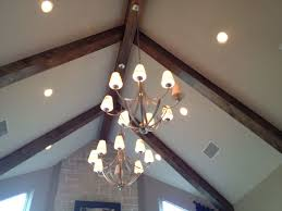 installing recessed lighting vaulted ceiling