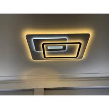 ĐÈN ốp trần , đèn led trang trí hình chữ nhật phòng khách 3 chế độ sáng bảo  hành 12 tháng giảm chỉ còn 1,599,000 đ