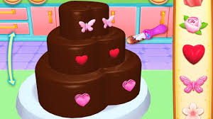 Fun Kids Cooking Game Bakery Cake Maker Learn Color Decorate