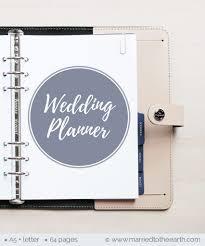 Printable Wedding Planner Free Printable Wedding Planner A5 Letter