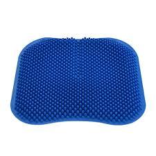 Egg Crate Design Silica Gel Seat Cushion Comfort Honeycomb Egg Crate Design Gel Pad Provides Lumbar Support