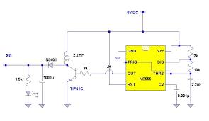 6v to 12v dc converter circuits 555 voltage converter