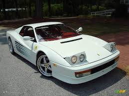 Bianco (White) 1991 Ferrari Testarossa Standard Testarossa Model ...