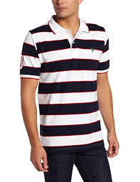 Us Polo Assn Size Chart Us Polo Assn Mens Striped Polo Shirt