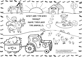 Farm Animal Coloring Pages Pdf Free Kindergartenheets To Print