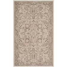 essence natural taupe 3 ft x 5 ft area rug