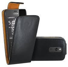 Nokia 515 - PU Leather Flip Up Down ...