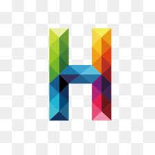 H C Shield Crete Color Chart Letter H Png Fancy Letter H Script Letter H
