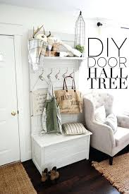 Hall Tree Coat Rack Storage Bench Entryway Hall Tree With Storage Door Hall Tree Entryway Wood Hall 95