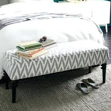 modern bedroom bench printed fabric grey and white bedroom bench modern bedroom bench stylish design inspirations