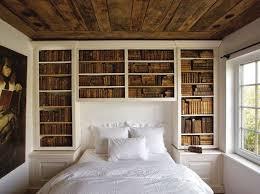 Bookcase Headboard Amish