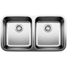 stainless steel undermount sink. Blanco Diamond Bowl Stainless Steel Undermount Sink - 441020 A