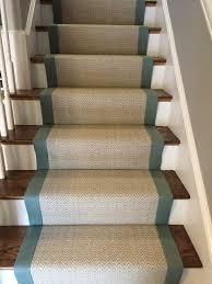 wool stair runner. Unique Stair Bloomsburg Tessio Nickel U2013 Custom 31u2033 Stair Runner With Dark Gray Binding Inside Wool Stair Runner P