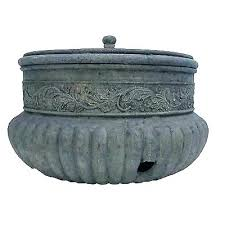 best garden hose storage pot what is the container holder stake