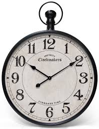 large pocket watch wall clock wallpaper