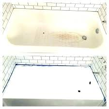 porcelain spray paint for tubs tub d ti bee and tile directions fascinating white bathtub colors