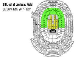 Billy Joel Live At Lambeau Field Event Usa