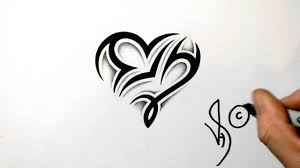 Tribal Star Signs Tattoos Designs Designing A Libra And Capricorn Heart Design Zodiac Tribal Symbols