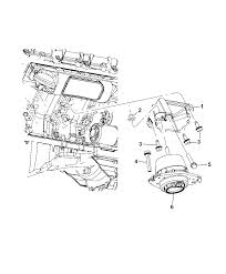2012 jeep grand cherokee engine mounting left side diagram i2275384