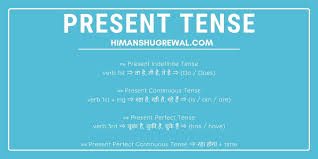 Hindi To English Translation Tense Chart Tense Chart In Hindi With Examples Rules Formula Exercises